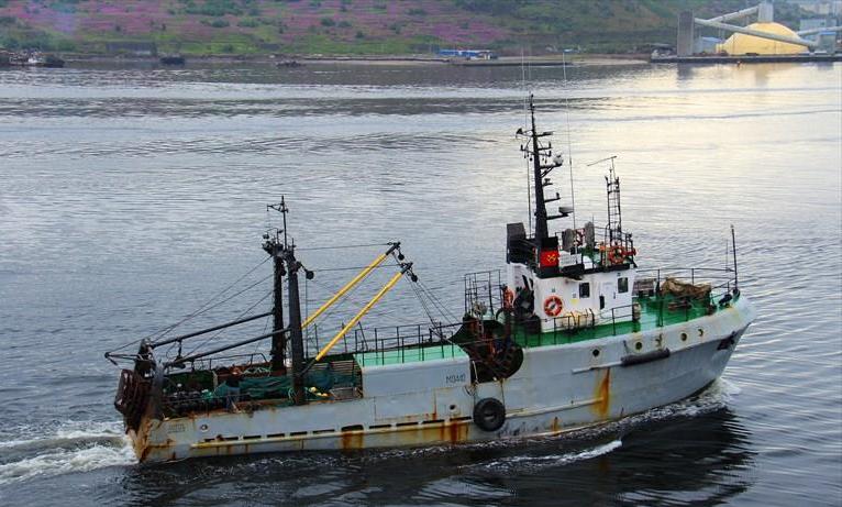 Имя член экипажа пропал с рыболовного судна в баренцевом море